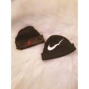 Other - Jordan & Nike baby hat bundle